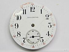 Antique Burlington 19 Jewels Adj's Temp Positions Pocket Watch Movement 39.5 mm