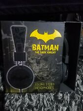Batman Dark Knight Stereo Foldable Headphones Batman Collectors'