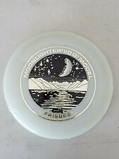Vintage 1975 Wham O Moonlighter 110 G. Frisbee Glow In The Dark Flying Disc