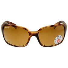 Ray Ban Polarized Brown Classic B-15 Ladies Sunglasses RB4068 642/57 60-17
