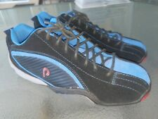Piloti Sebring Black / Blue Leather Driving Race Shoes Mens Sz 7 Mint Condition