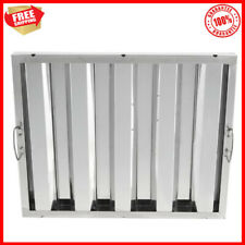 16 X 20 X 2 Stainless Steel Hood Grease Commercial Exhaust Filter Baffle New