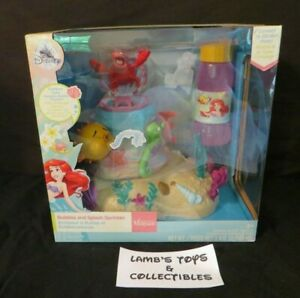 Disney Store Authentic Bubble and Splash The Little Mermaid Sprinkler Outdoor