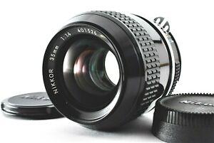 【NEAR MINT】Nikon Ai Nikkor 35mm f/1.4 Wide Angle MF Lens from Japan #399