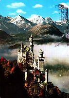 Königsschloß Neuschwanstein , Ansichtskarte, 1985 gelaufen