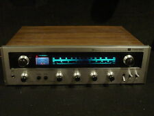 Vintage Toshiba SA-400 solid state AM/FM stereo receiver wood grain