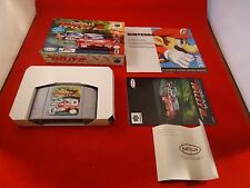 Top Gear Rally 2 (Nintendo 64, 1999) N64 COMPLETE w/ Box manual game WORKS! #H1