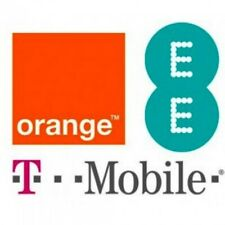 ORANGE/T-MOBILE/EE UK UNLOCK IPHONE 4/4S/5/5C/5S/6/6+/6S/6S+/7/7+/8/X CLEAN