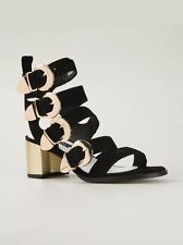 SENSO 5 38 QUARRY II BLACK SUEDE Sandal Sandals NEW/BOXED £170 SOLD OUT