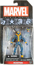 Marvel Universe Infinite Series DEADPOOL (BLUE X-FORCE OUTFIT) - HASBRO
