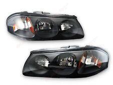 Set of OE Style Black Housing Headlights for 2000-2005 Chevrolet Impala