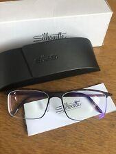 Silhouette 2904/40 6053 52/17 Brown Eyeglasses Urban Fusion Prescription Lenses