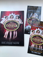 MRS HENDERSON PRESENTS THE MUSICAL theatre Programme TRACIE BENNETT