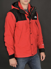 The North Face Mountain Denali Jacket # A35QKZ3 Red 2 in 1 Gore Tex Men SZ S