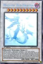 Majestic Red Dragon - ABPF-EN040 - Ghost Rare - 1st Edition x1 - Lightly Played