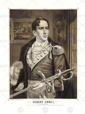 PORTRAIT ROBERT EMMET IRISH PATRIOT MARTYR HERO NEW ART PRINT POSTER CC3714