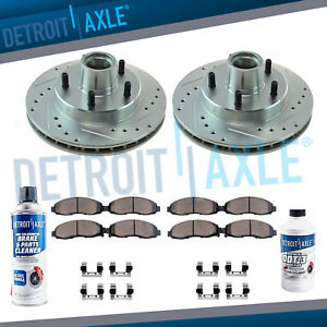 AUTOMUTO Front Rotors Drilled Slotted Discs Brake Rotor fit for 1982-1988 Oldsmobile 1982-1987 Buick Regal 1982-1988 Chevrolet 1982-1995 GMC 1982-1992 Pontiac