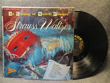 33 RPM LP Record Strauss Waltzes An Evening Of Musical Pleasure Parade SP 301