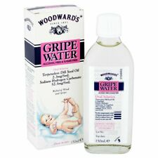 Woodwards Gripe Water 150ml-Original Dill Seed oil for Baby Bubbles
