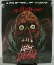 AS IS: The Return of the Living Dead Limited Edition Blu-ray Steelbook O'Bannon