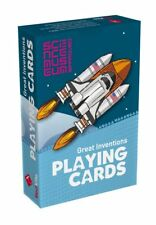 New Great Inventions Playing Cards Science Museum Themed Deck of Cards