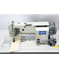 Tysew TY-11163-1 Twin Needle Walking Foot Needle Feed Industrial Sewing Machine