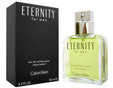 CK ETERNITY by Calvin Klein 3.4 oz/ 100 ml for Men Cologne EDT New in Box Sealed