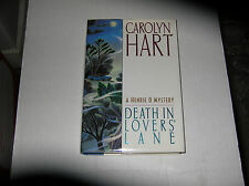 Death in Lovers' Lane by Carolyn Hart (1997) SIGNED 1st/1st