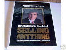 Tom Hopkins - How To Master The Art of Selling Anything - 12 Tapes + 12 CDs $195