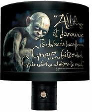 the HOBBIT An Unexpected Journey Gollum Nightlight night light nitelite Tolkien