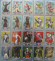 Part 1//11, #1-30 Star Wars Force Attax Choose One Movie 2 Card
