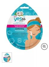 YES TO COTTON Comforting MUD MASK Refresh Nourish for Sensitive Skin - Lot of 6