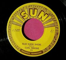 CARL PERKINS - Blue Suede Shoes - clean 45 rpm - SUN 234