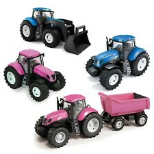 Kids Real Looking Colourful Plastic Toy Tractor Indoor Outdoor Summer Beach Play