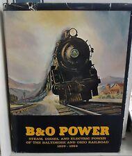 Railroad Book: B&O Power by Staufer