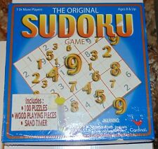 Cardinal Game The Original Sudoku Game new sealed 2005 some box damage