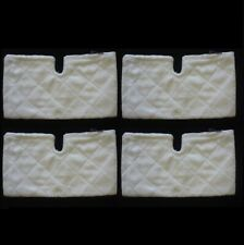 4 Shark Steam Pocket Mop Rectangle Cleaning Pads S3501 S3502 S3550 (No Box)