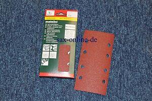 Metabo Haftschleifblätter Nr. 625768 P 100 8 Loch Gr. 93 x 185 mm Holz / Metall