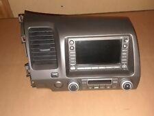 06 07 Honda Civic Hybrid GPS Navigation Radio player OEM 39541-SNA-A310-M1