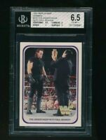 1991 Merlin WWF WWE The Undertaker RC Rookie BGS 6.5