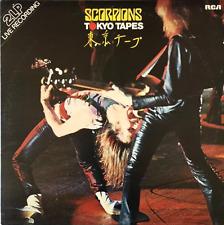 SCORPIONS - Tokyo Tapes (LP) (VG-/VG)