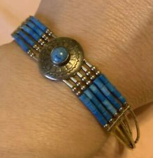 Indian Silver Turquoise Bracelet