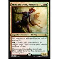 MINA AND DENN WILDBORN NM mtg Oath of the Gatewatch Gold - Elf Ally Rare