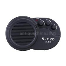 JOYO JA-02 3W Mini Electric Guitar Amp Amplifier Speaker Black New WF7D