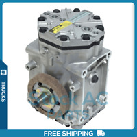 QR NEW A//C COMPRESSOR WITH CLUTCH YORK FITS FORD MUSTANG 1964-1971