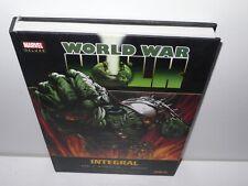world war hulk - integral - tapa dura - comic