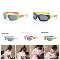 Kids Polarized Sunglasses Neck Hang Sporty Boys Girls Flexible Children UV C367