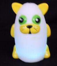 Bright Time Buddies Crescent Cat Night Light Lamp Nite Lite Multi Color Glow