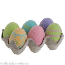 3 packs of Glitter Easter Egg Cartons with 6 Eggs each e3252303 NEW RAZ