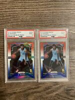 2019-20 Panini Prizm Ja Morant Rookie RC Red White Blue LOT (2) #249 PSA 9 🔥🔥